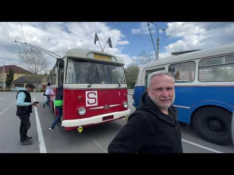 Historické trolejbusy a autobusy ve Zlíně